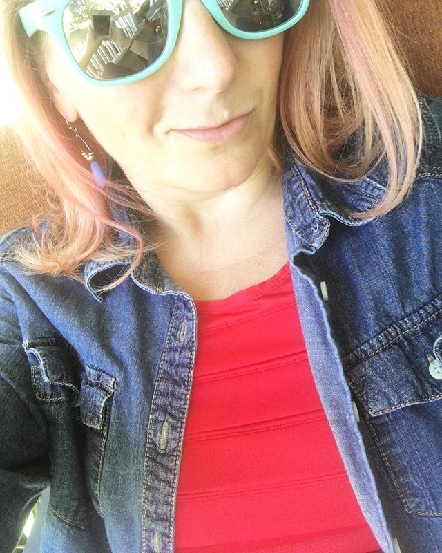 Got my red from Oiselle.  Wearing tech gear so I can kick Jere's ass in wiffleball.