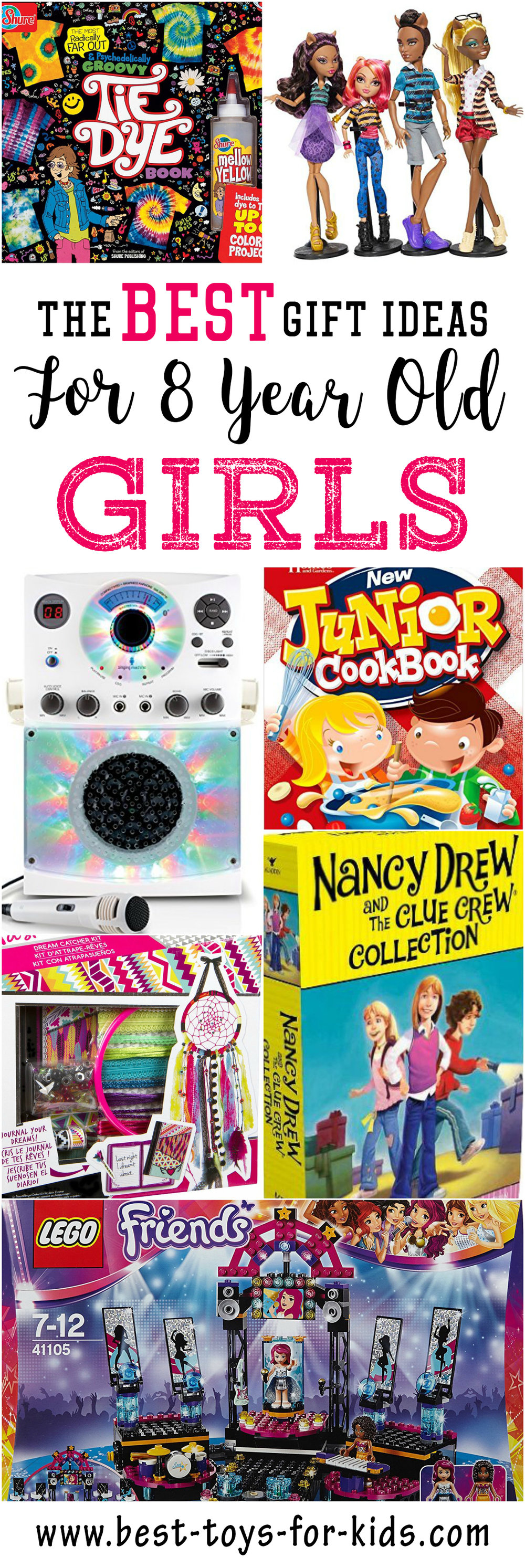 Best Gift Ideas For 8 Year Old Girls Best Toys For Kids