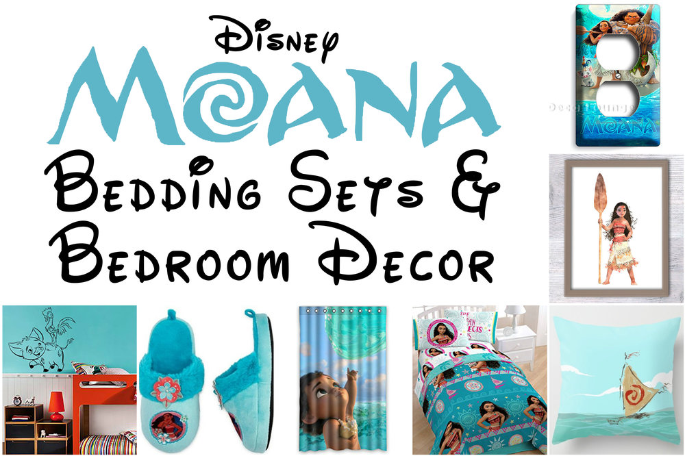 Beautiful Disney Moana Bedroom Decor For Sweet Princess