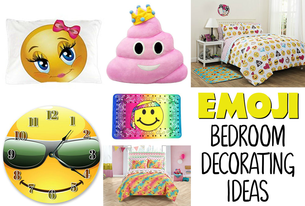 Funny Emoji Bedroom Decorating Ideas For Kids — Best Toys ...