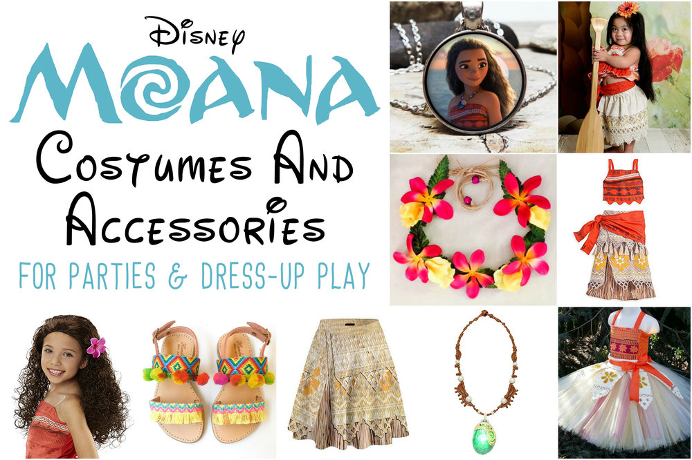 Disney Moana Princess Costumes For Kids