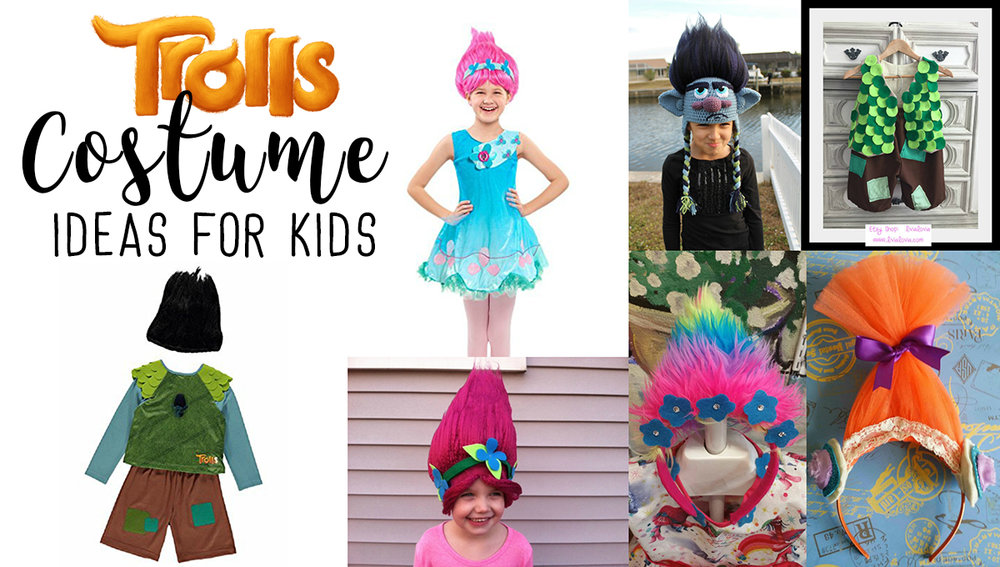 Dreamworks Trolls Costume Ideas For Kids