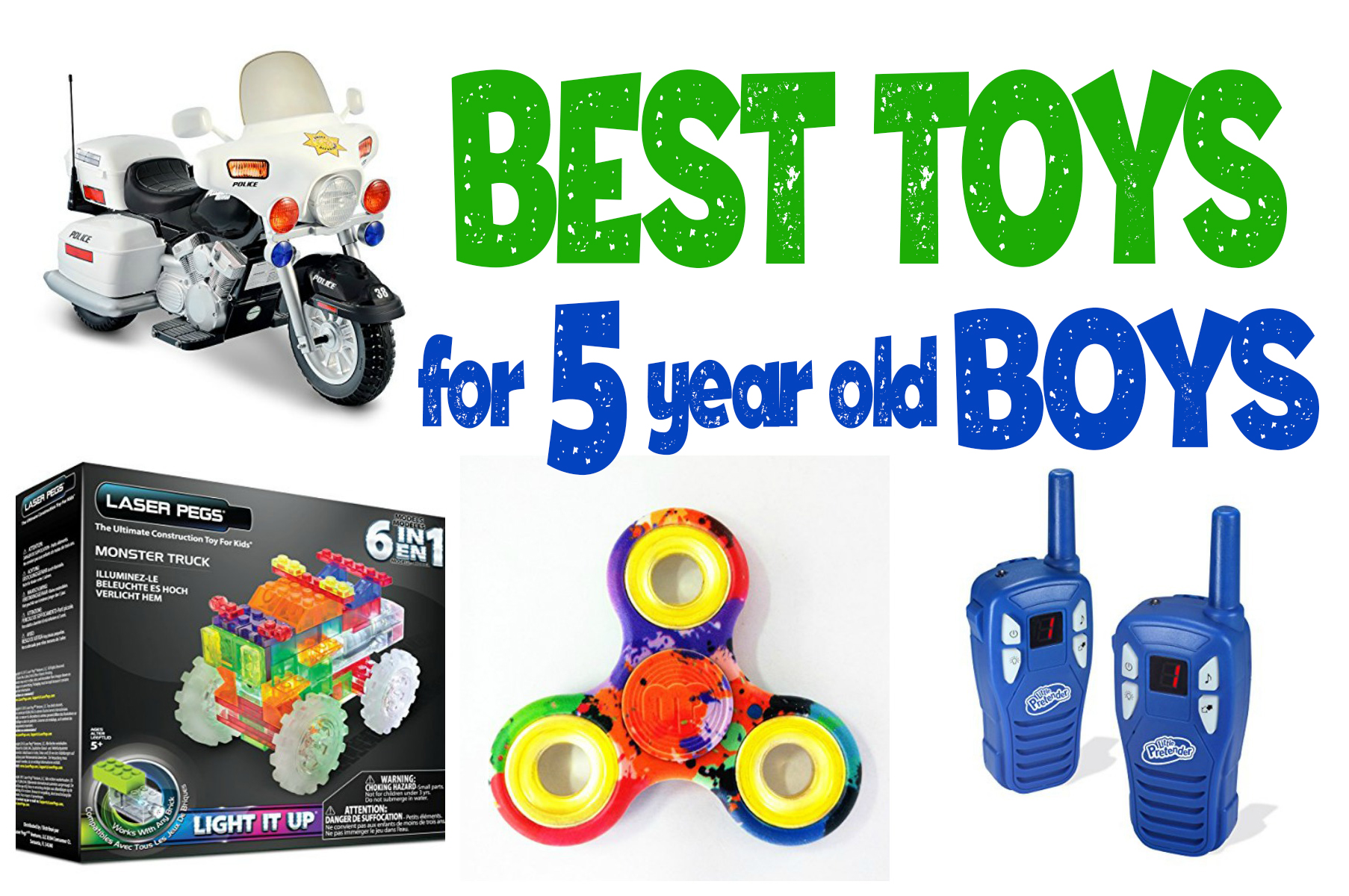 Popular Toys For 5 Year Olds : What re the best toys for year old boys —