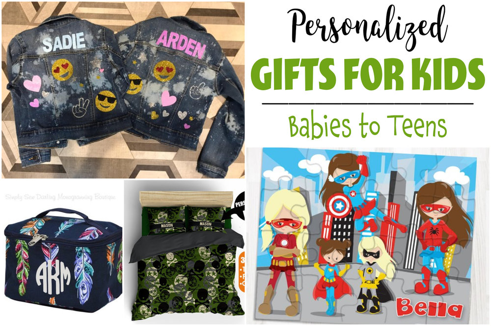 personalized gifts for kids of all ages