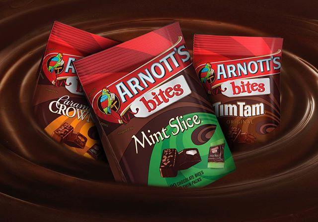 A seriously good product #arnotts #campbellarnotts #arnottsbites #timtams #arnottstimtams #packaging #branding #packagingdesign #fmcg #brandedpackaging