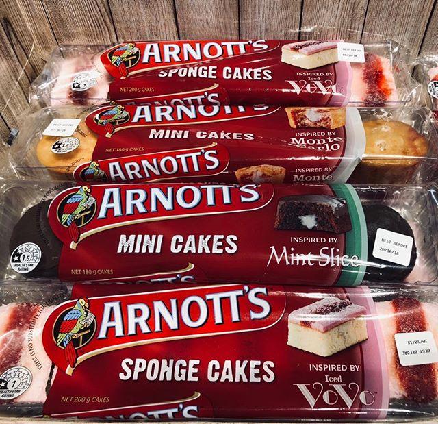Arnotts cakes - very moorish #arnotts #campbellsarnotts #brandedpackaging #packaging #graphicdesign #design