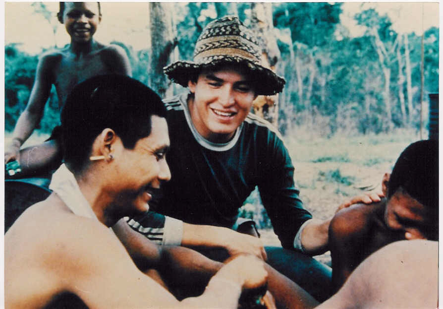 Old film photos from the missionary's first few years of contact. (amazing hat, amiright??!)