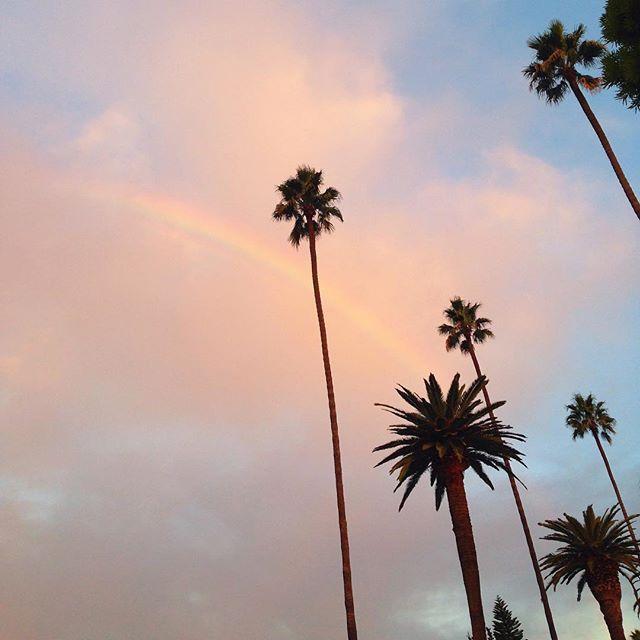 Somewhere under the rainbow. #happysundays