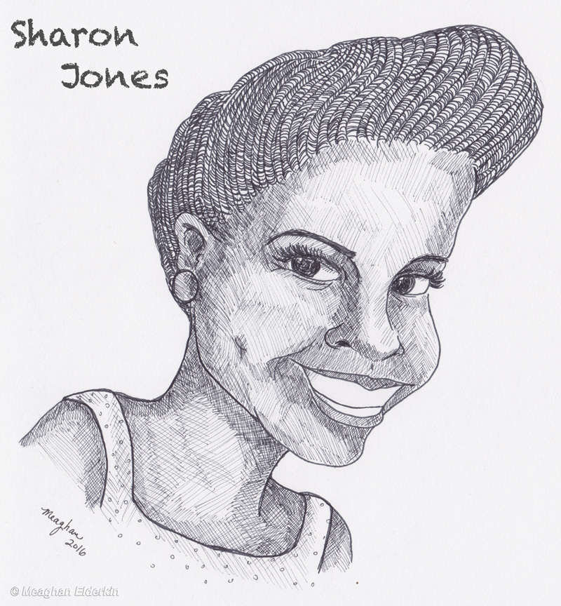 Sharon Jones , 1956-2016