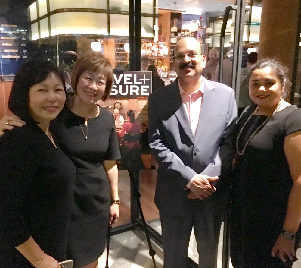 From left to right: Ms Serene Law (VP, FLA), Ms Aileene Thangaveloo (Director - Marketing, FLAA), Mr Sanjiv Bisaria (VP, Travel + Leisure India & South Asia), Ms Jagdish Sandhu (CEO, FLA).