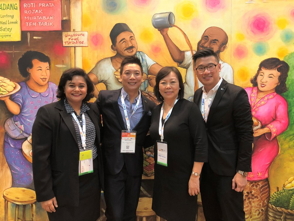 Ms Jagdish Sandhu (FLA), Mr Mark Wong (Small Luxury Hotels of The World), Ms Serene Law (FLA), Mr Donny Yip (Small Luxury Hotels of The World).