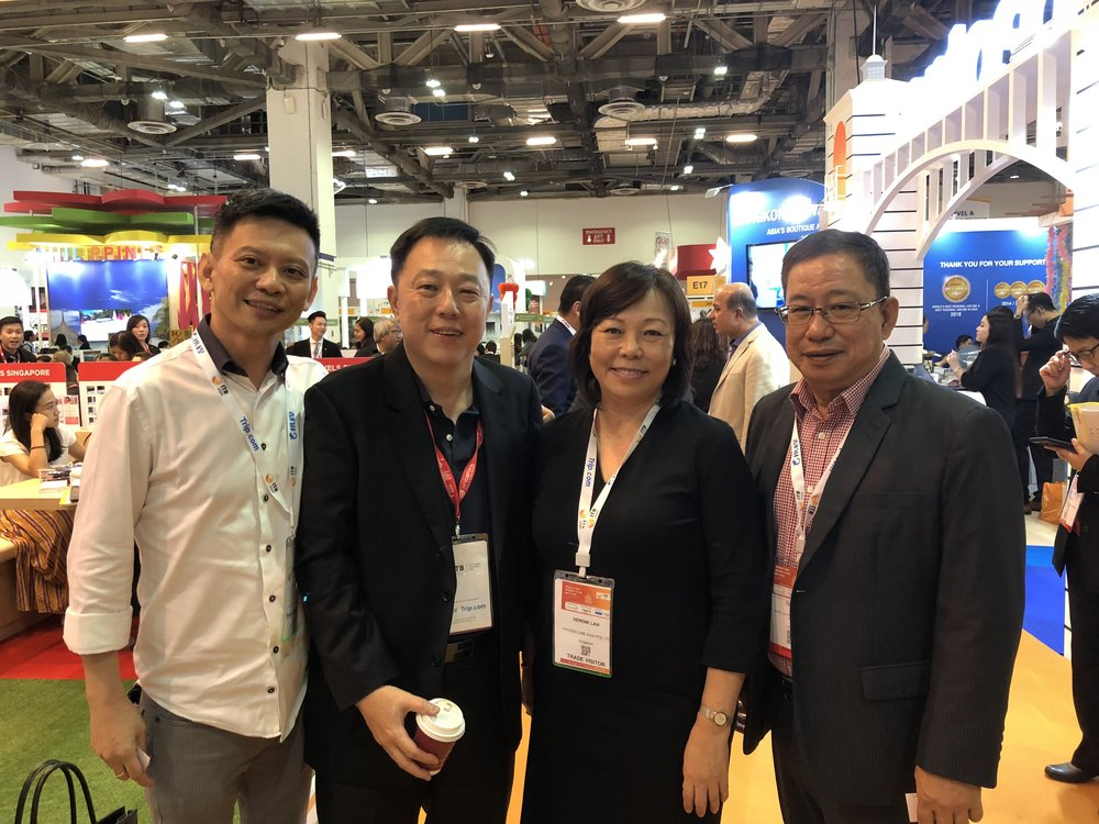 From left to right: Mr Joseph Foo (Iriver Asia), Mr Daniel (RMG), Ms Serene Law (FLA), Mr Tony Aw (Hong Thai).