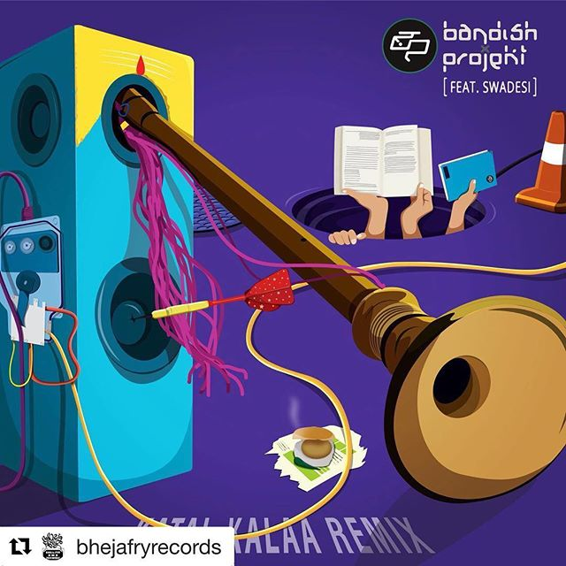 Big love to @bhejafryrecords and @bandishprojekt for selecting a @duttydeedz remix for this upcoming EP! Can't wait to share my #EkSeAanth remix with y'all! ❤️🎹 #Repost @bhejafryrecords with @get_repost ・・・ Here it is the artwork for the KATAL KALAA REMIX EP. Coming out soon on @bhejafryrecords, we are really happy with the remixes on this one. There are some amazing artists and some mad remixes coming your way. We can't wait to share with you guys. If you haven't heard the original ep head to bhejafryrecords.com. Artwork by Xtrathin designs. Watch out for this space #katalkalaaremix #swadesi #mctodfod #mcmawali #remix #producersgame #bass #rap #hiphop #revolution #indiarap #katalkalaa #taal #bol #bandishprojekt