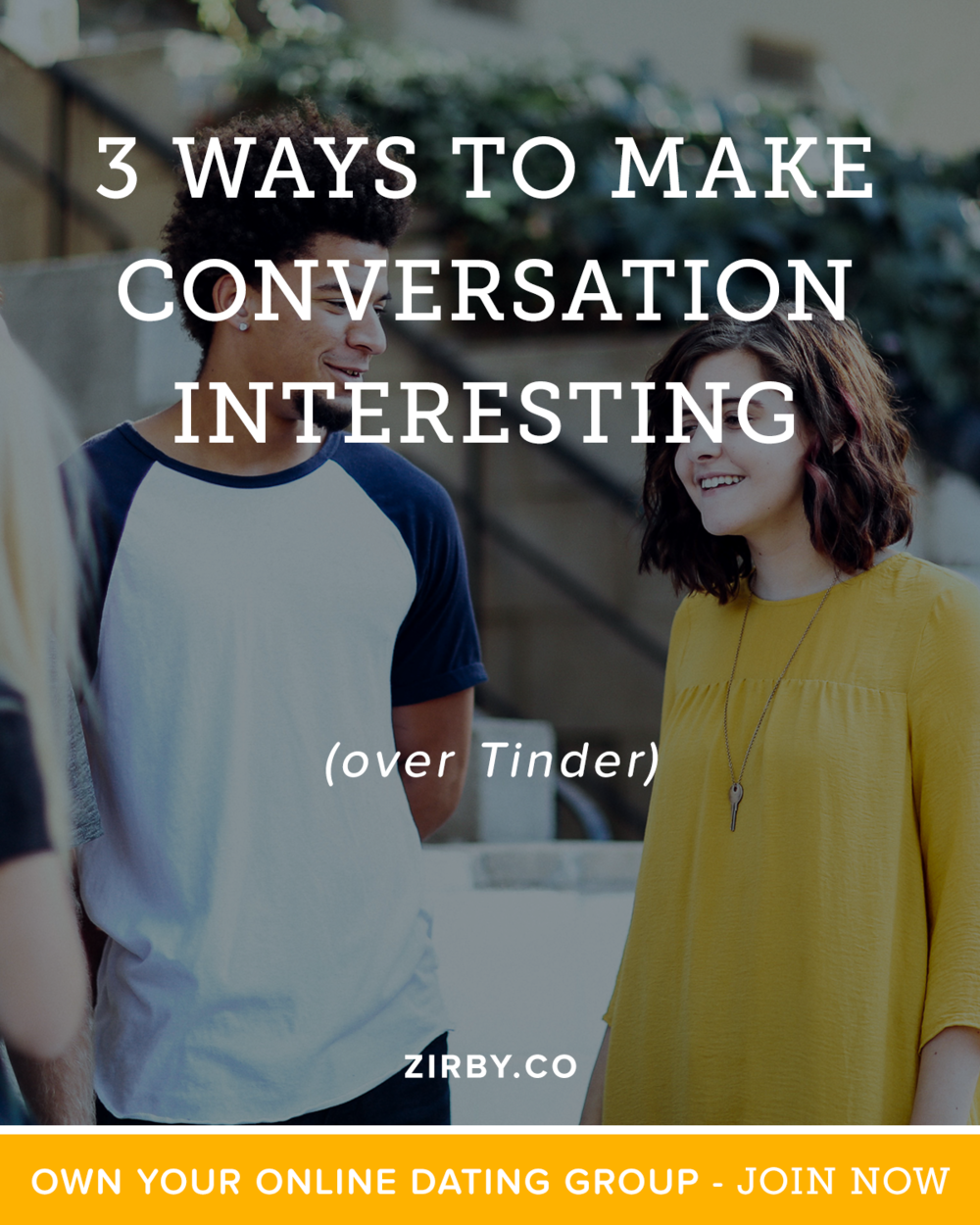 How do you keep a conversation interesting over Tinder, or with Online Dating in general? We're going to break down 3 ways with real examples from actual Tinder messages exactly how keep things interesting. Not only will this result in more numbers but it will result in better dates with the attractive women you want to be around.