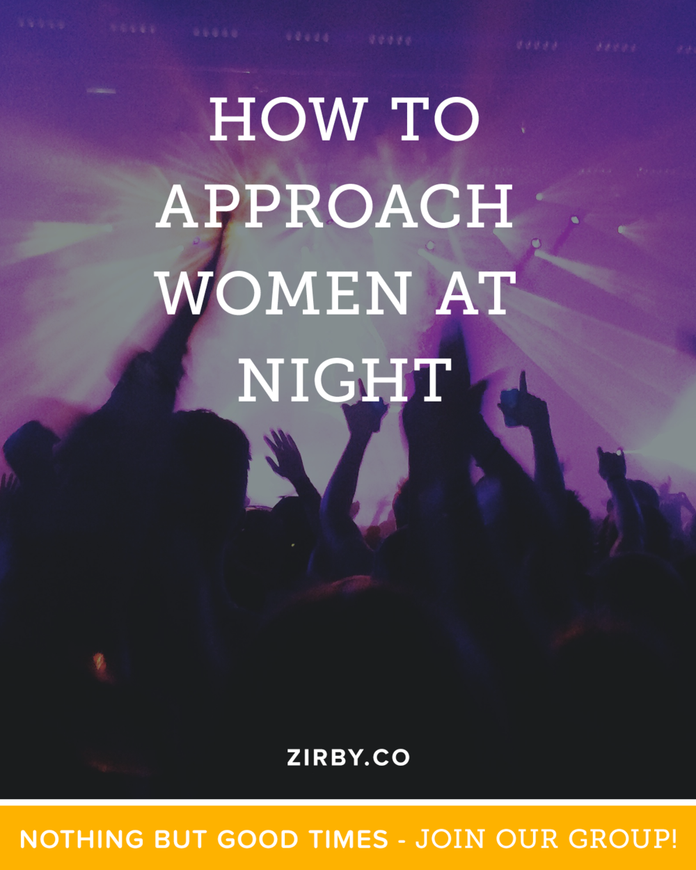 In this Men's Podcast episode of Nothing But Good Times, Zirby coaches Thijs and Julius break down exactly how to approach women at night, bars, and clubs. They'll show you the best methods to open girls and get them attracted to you without coming across as a creep. Tune in, and listen up!