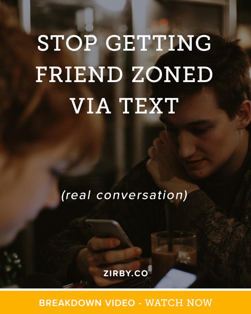 How often has this happened to you? You meet a cute girl, get her phone number, then try to arrange your first date with her. Then... the unthinkable happens: you get friend zoned. What went wrong? Let's figure it out with this actual text conversation.