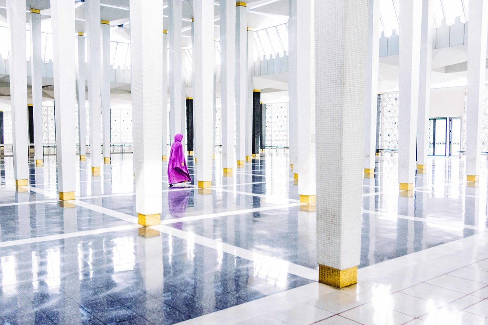 National Mosque of Malaysia, Kuala Lumpur, Malaysia
