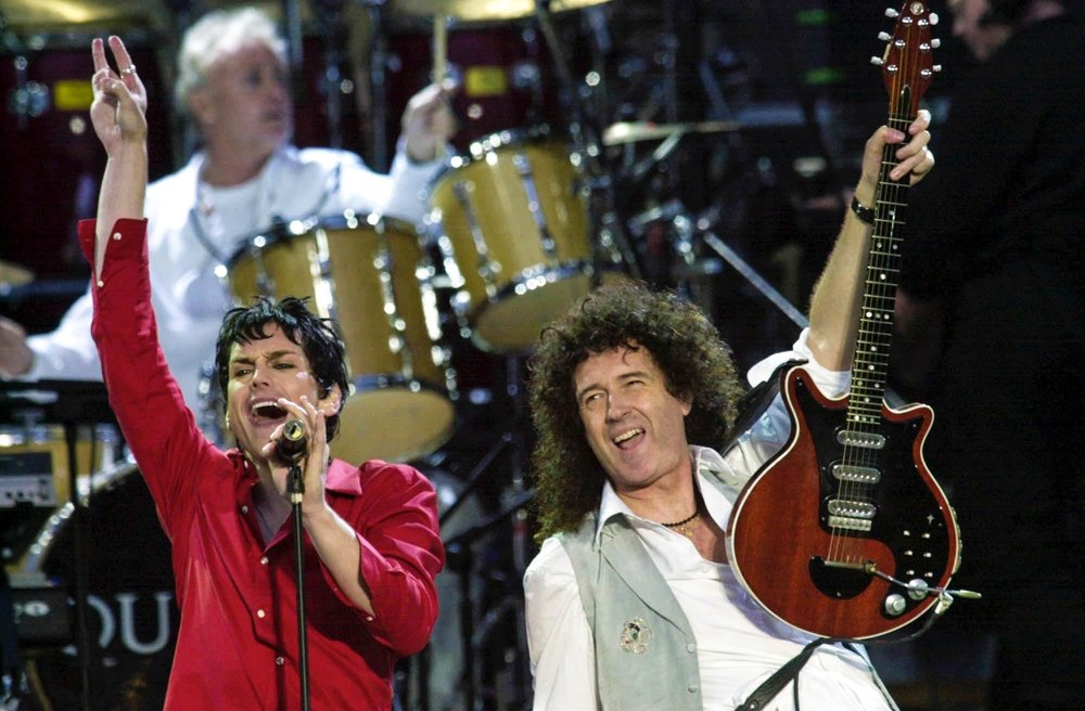 Golden Jubilee- Queen's Brian May & Roger Taylor