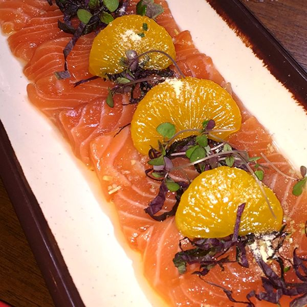 Atlantic Salmon Sashimi