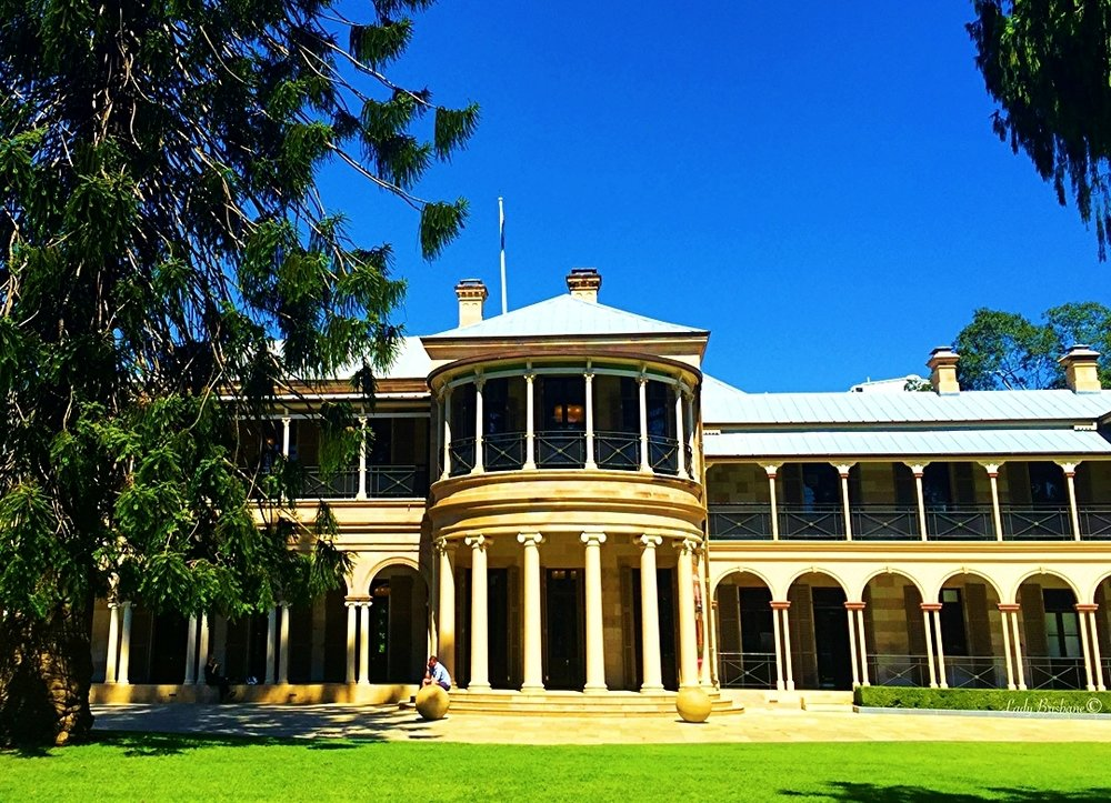 Old Government House, QUT, where the Lamington is believed to have been created.