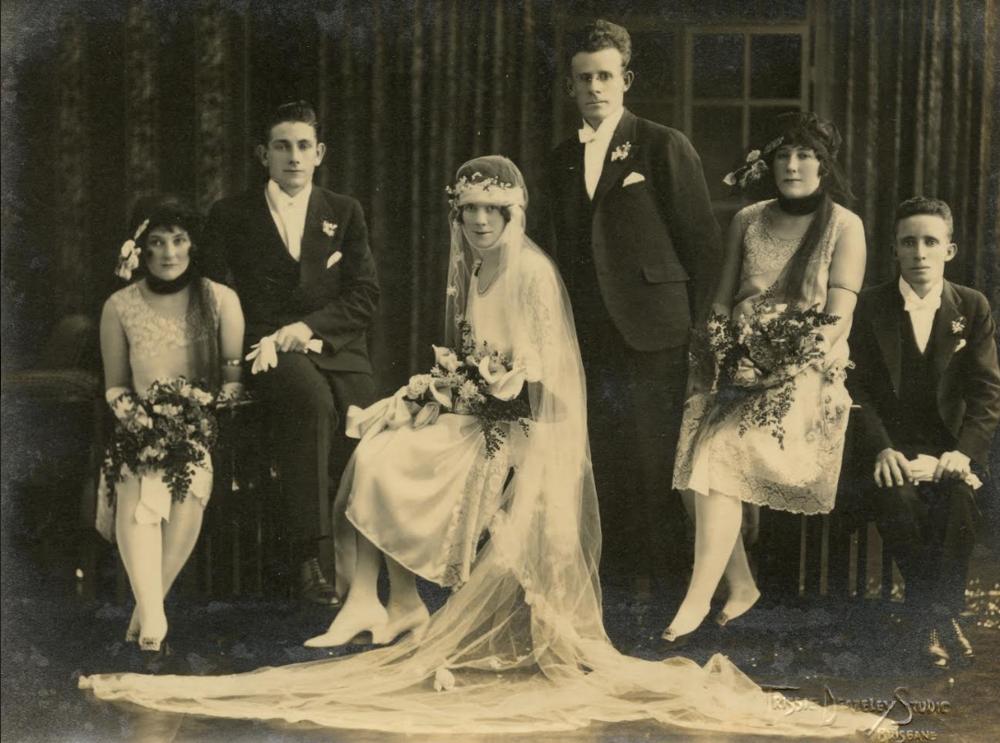 Trissie Deazeley Studio, Silver gelatin photograph, c1925. Marcel Safier Collection.