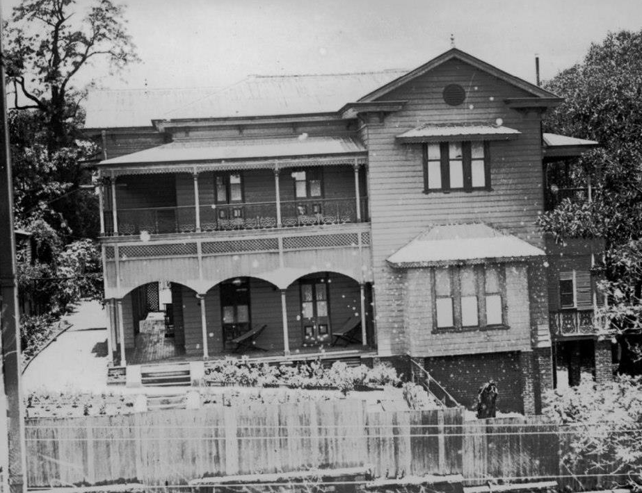 The Lodge, Parliament House, Brisbane 27 June 1927. Image credit -  Lost Brisbane