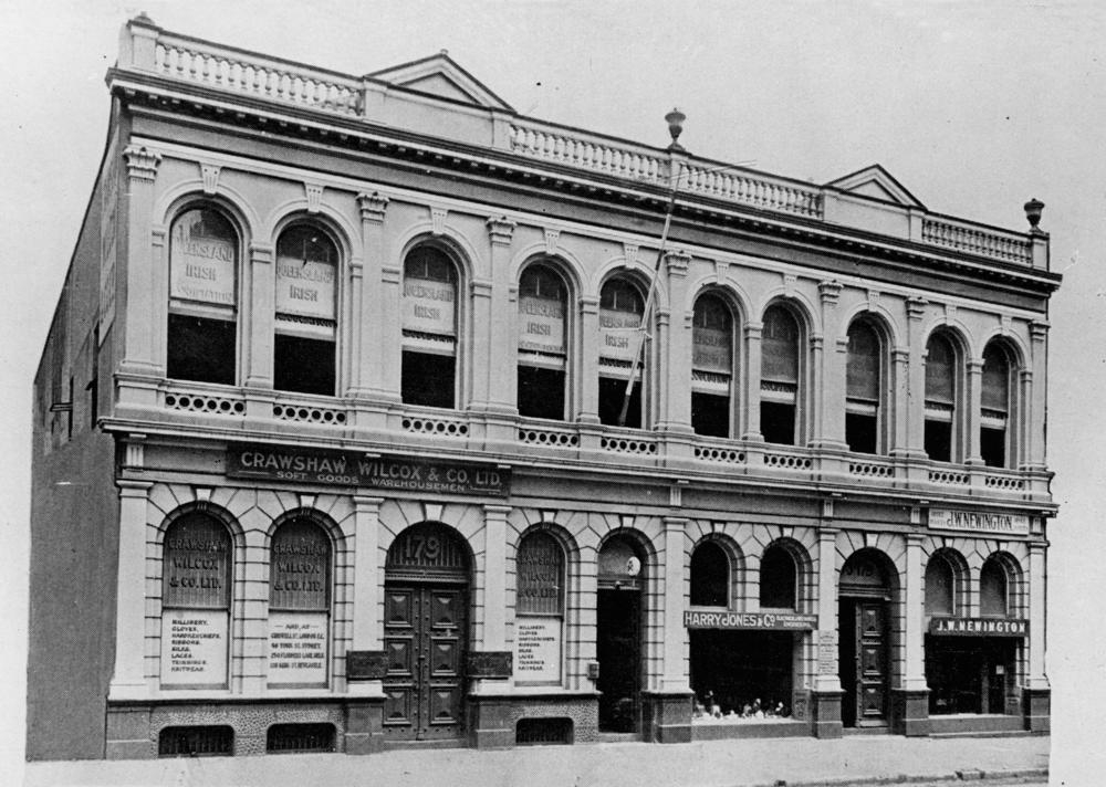 The Queensland Irish Club building in 1928.