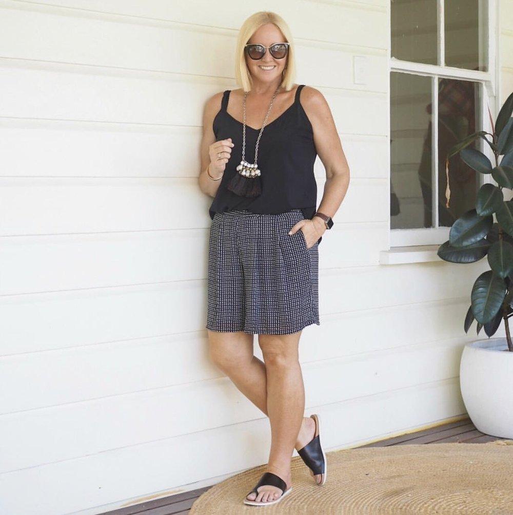 Nikki sharing her stylish casual looks. Image credit -  @stylingyou