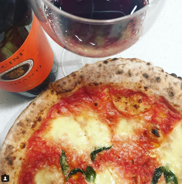 Tartufo Restaurant - one of Kylie's favourites. Image  Kylie Lang Instagram
