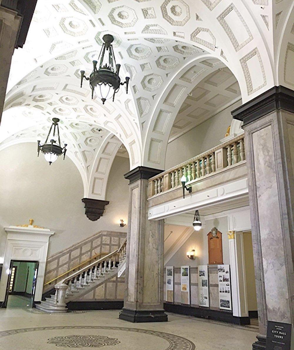 City Hall main foyer