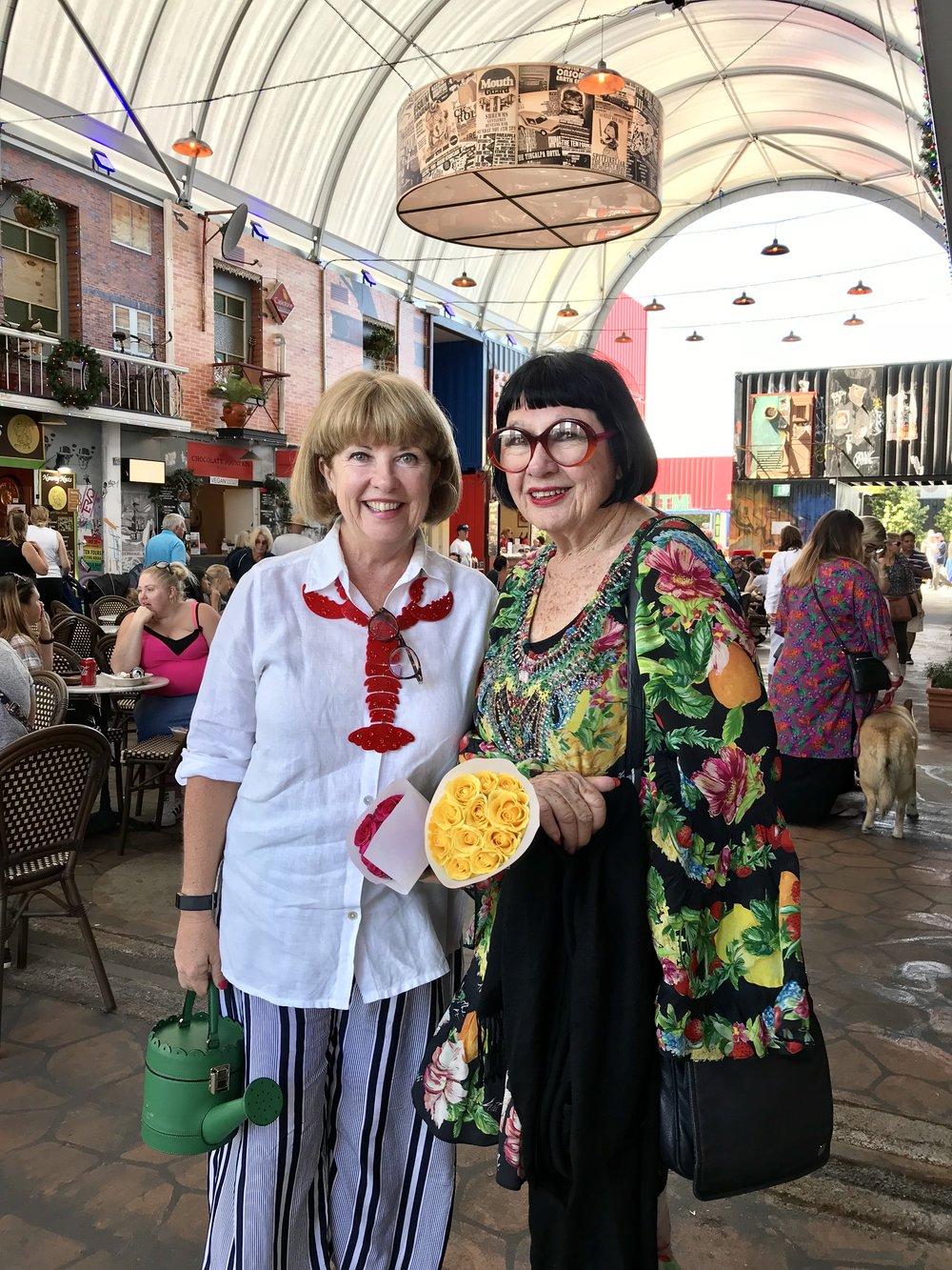 Jacki MacDonald and Peter Hackworth - Successful Ladies of Eat Street