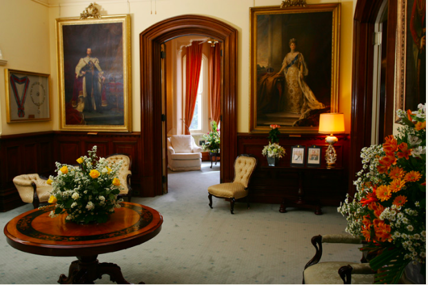The Foyer, Government House. Image - Government House website