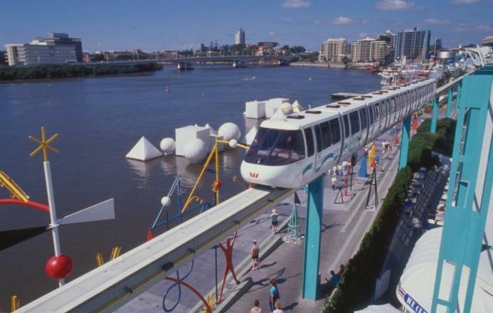 Lady Brisbane World Expo 88