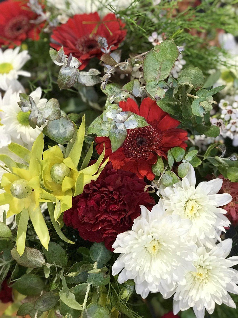Northside flower market christmas workshops lady brisbane izmirmasajfo