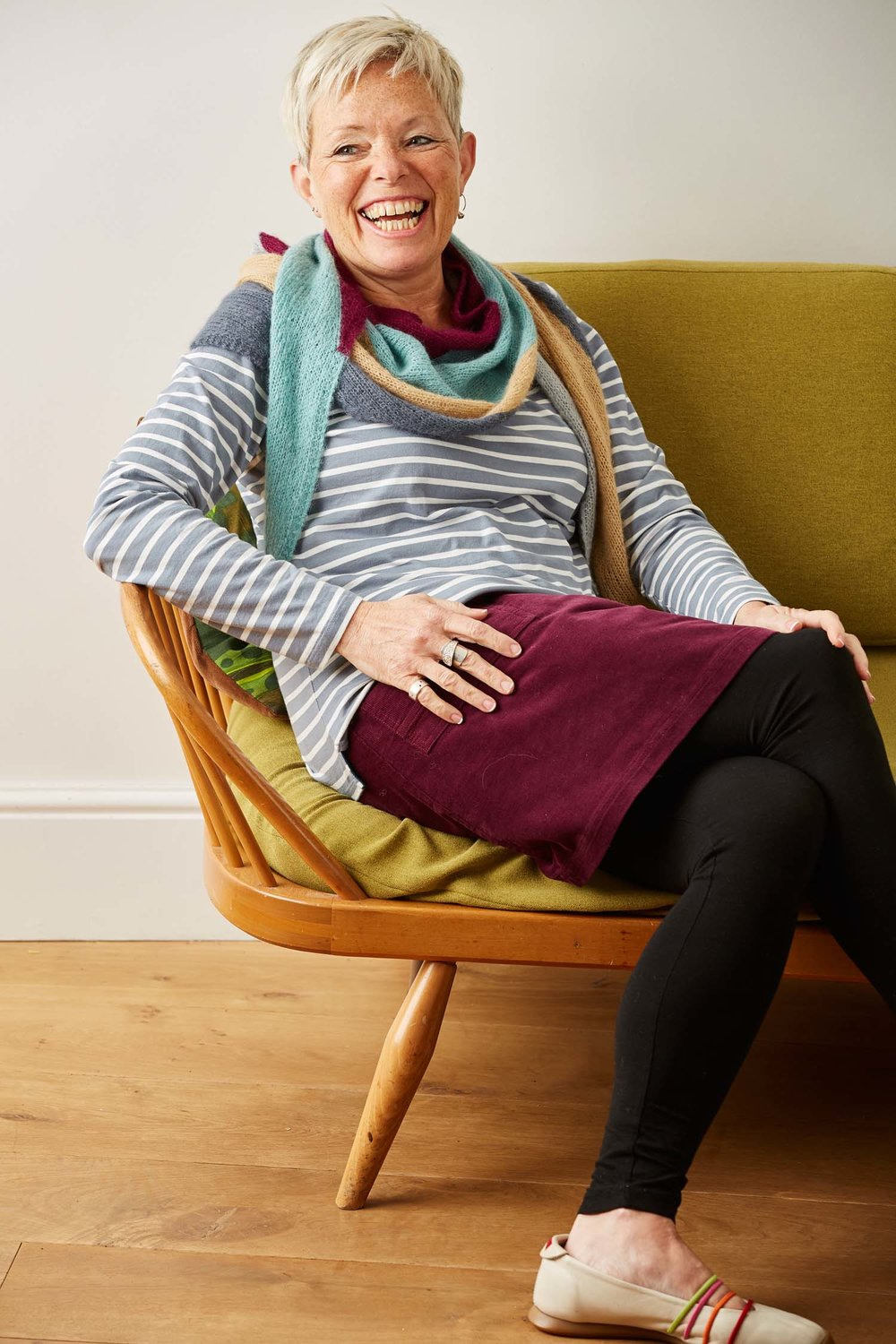 Who knew that intarsia could be such fun? Bristol's designs are fantastically clever, while also being easy to knit.