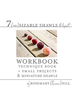 7 reSizeable Shawls Workbook