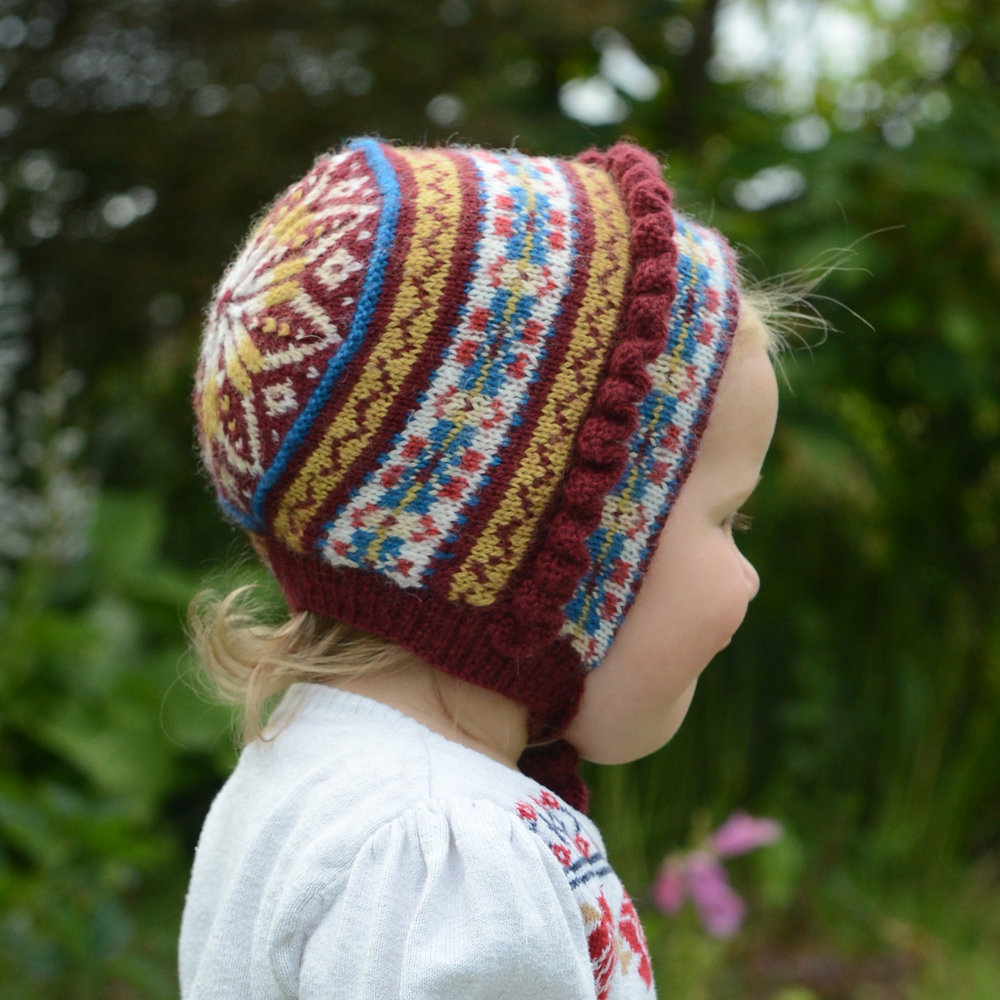 Frances Frilly Pixie Hat by Linda Shearer