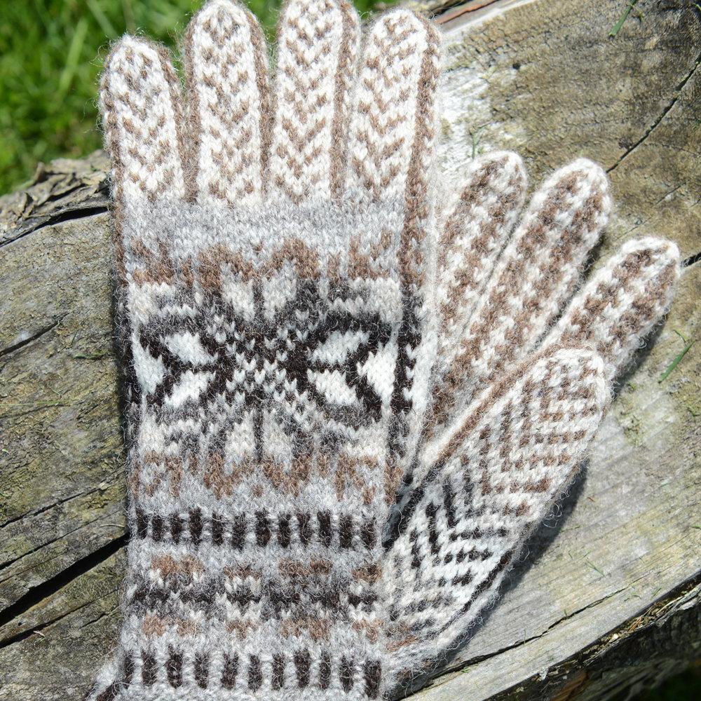Hvarfi Gloves by Pearl Johnson