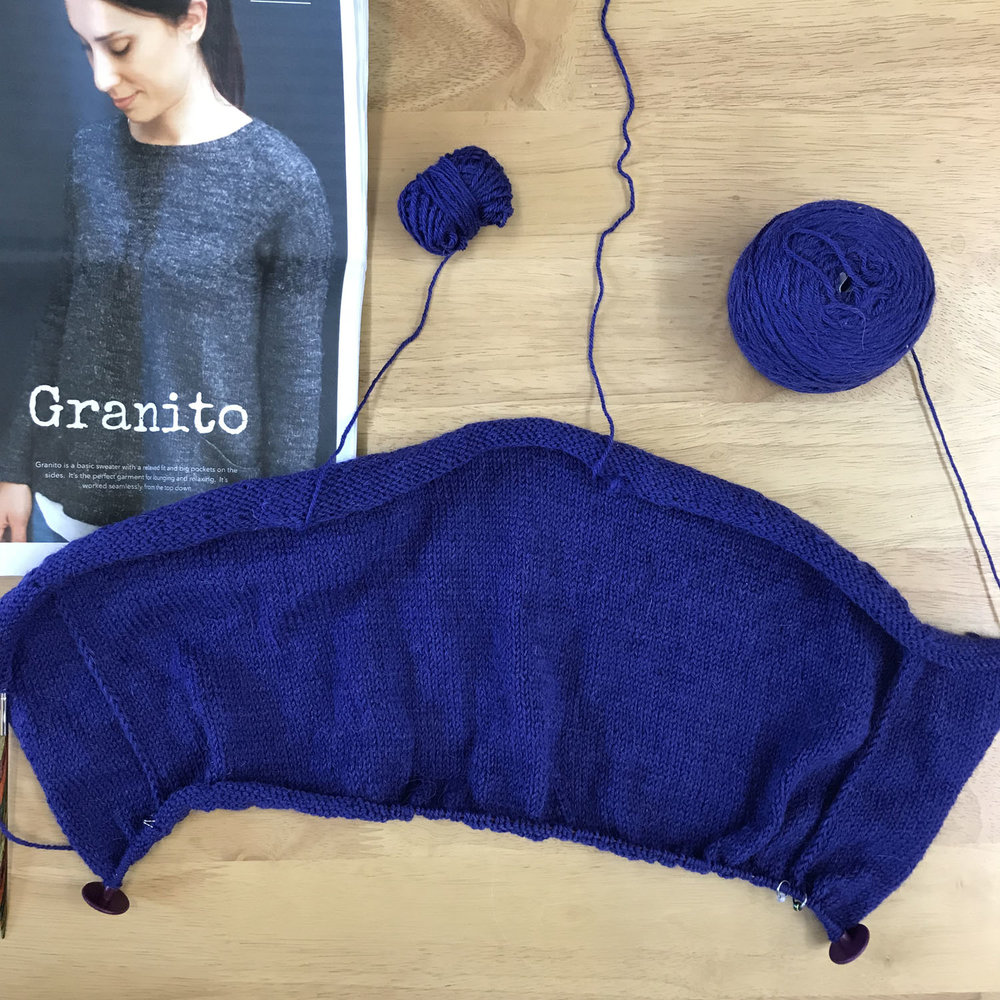 Granito progress in Something to Knit With 4ply.jpg