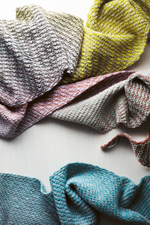 Parallelogram scarf by Cecelia Campochiaro