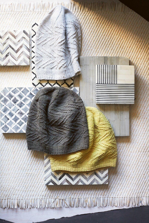 Swirl hat by Cecelia Campochiaro