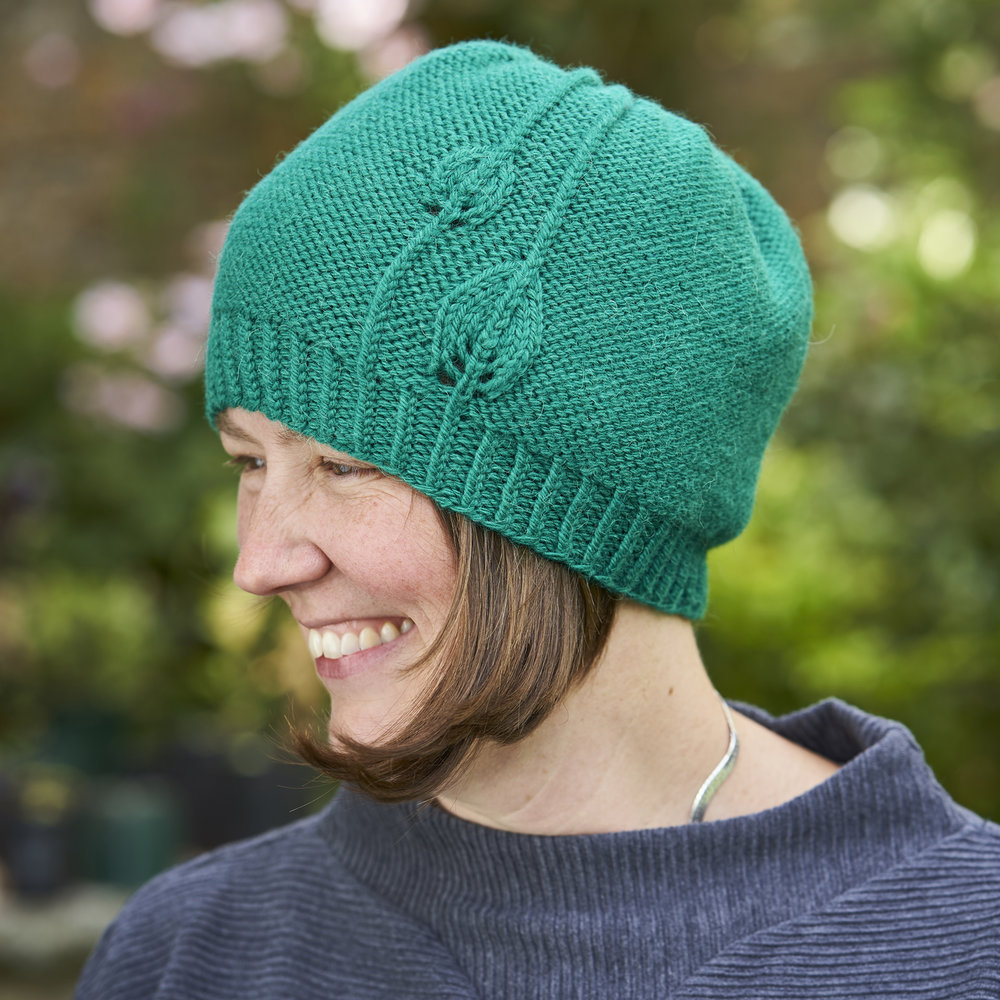 Fabales by Woolly Wormhead in Something to Knit With Aran in Jade.jpg