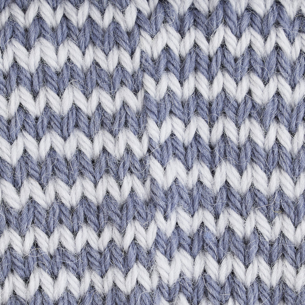 Right side traditional 1x1 stripes