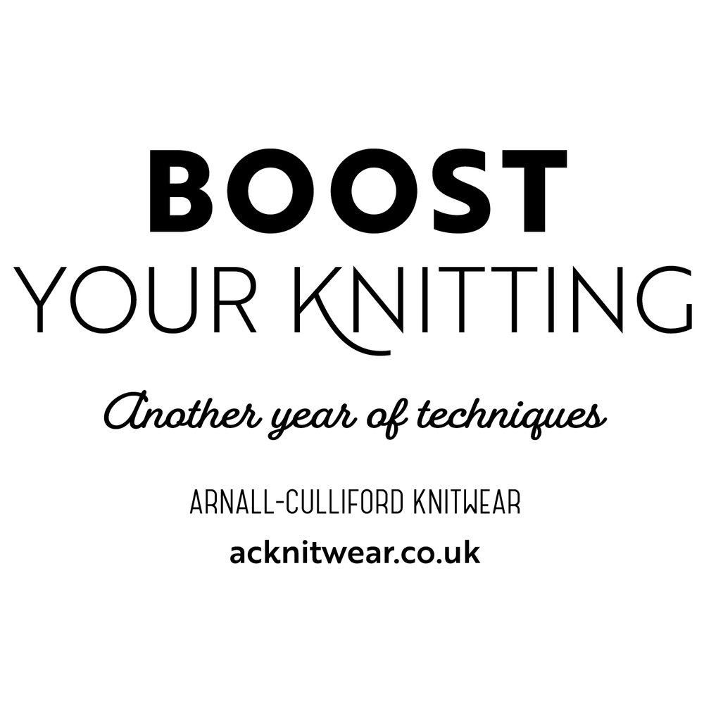 Boost Your Knitting: Another Year of Techniques