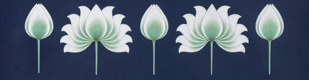 Art by Olivia Fraser - Sacred Garden