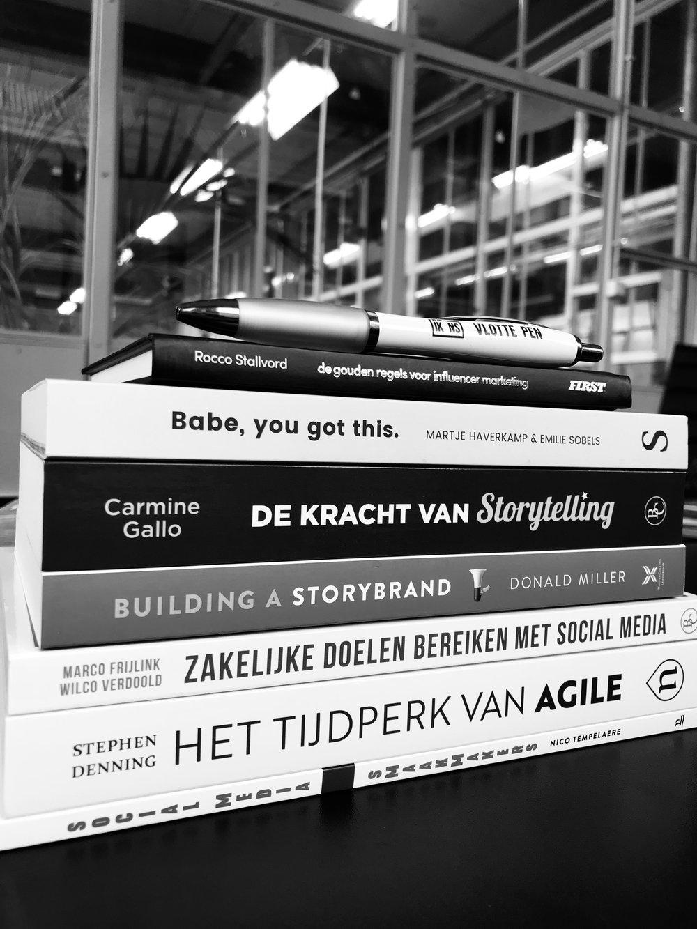 Storytelling Branding Marketing boeken