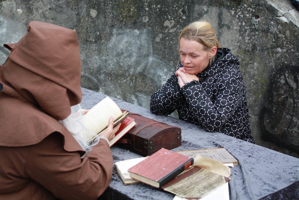 Karina og vismanden
