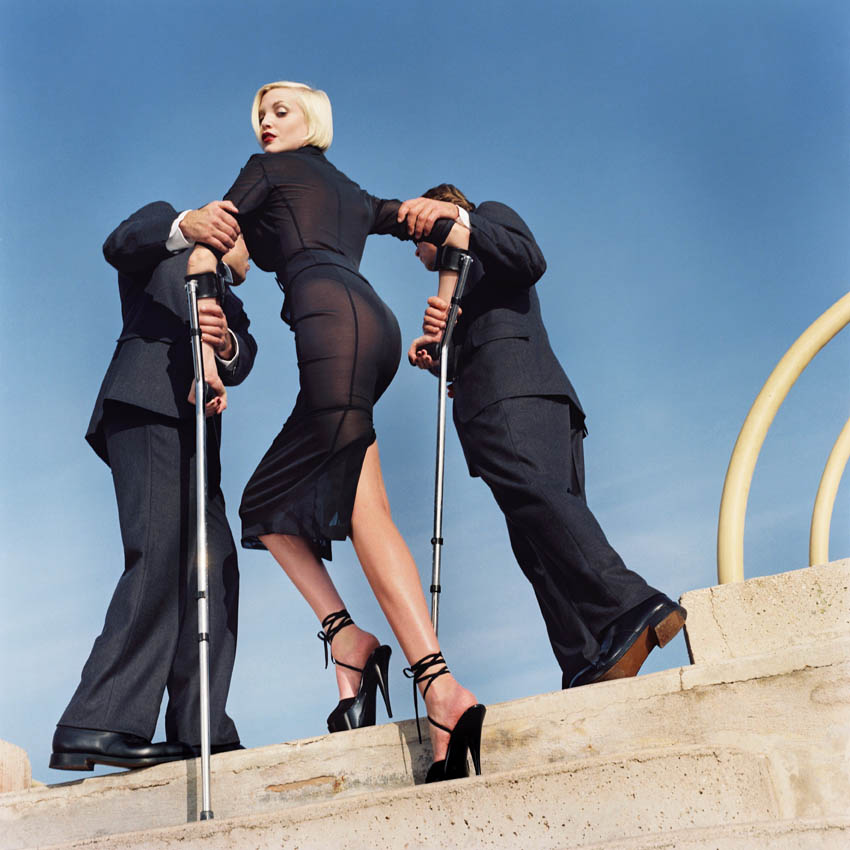 High & Mighty, Dolce & Gabbana, American Vogue, Monte Carlo, 1995