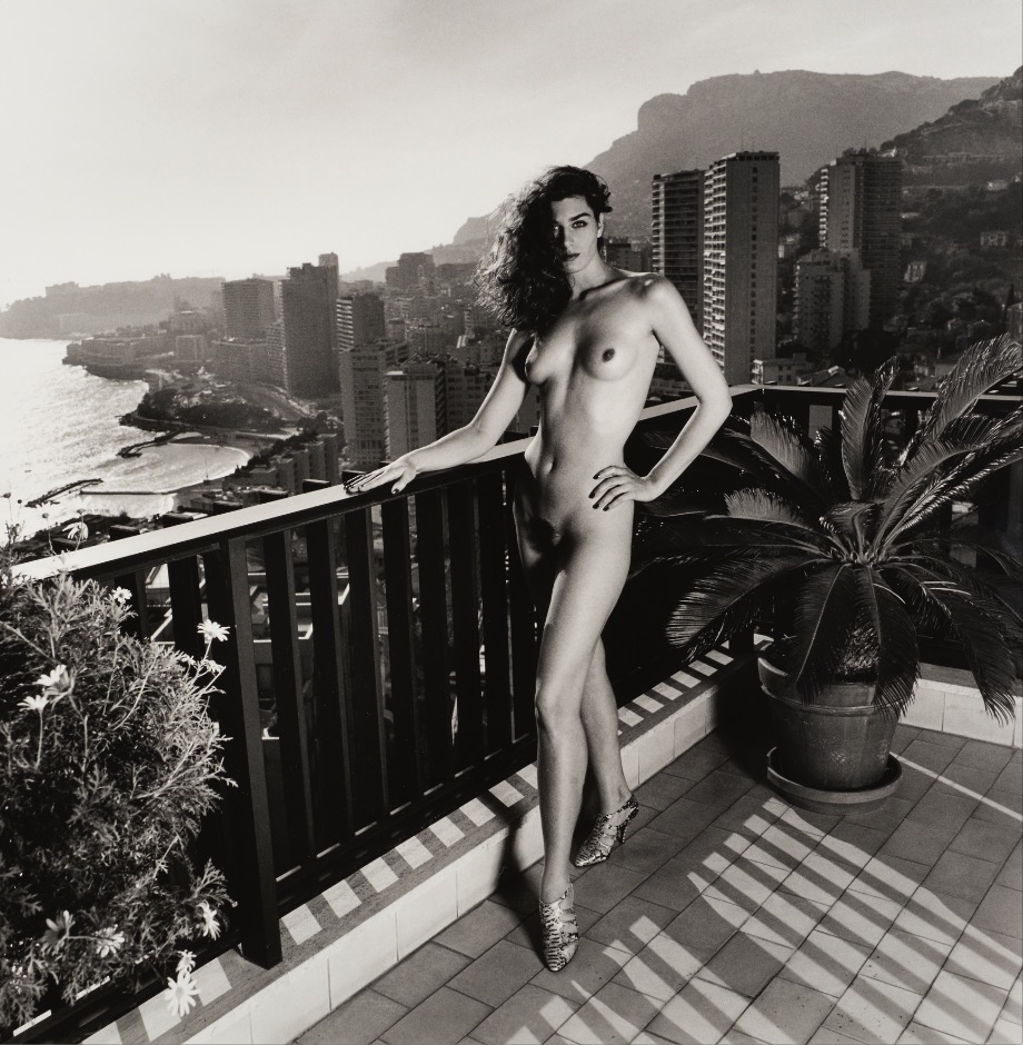 HN On my terrace, Monte Carlo, 1990 (undressed) LR.jpg