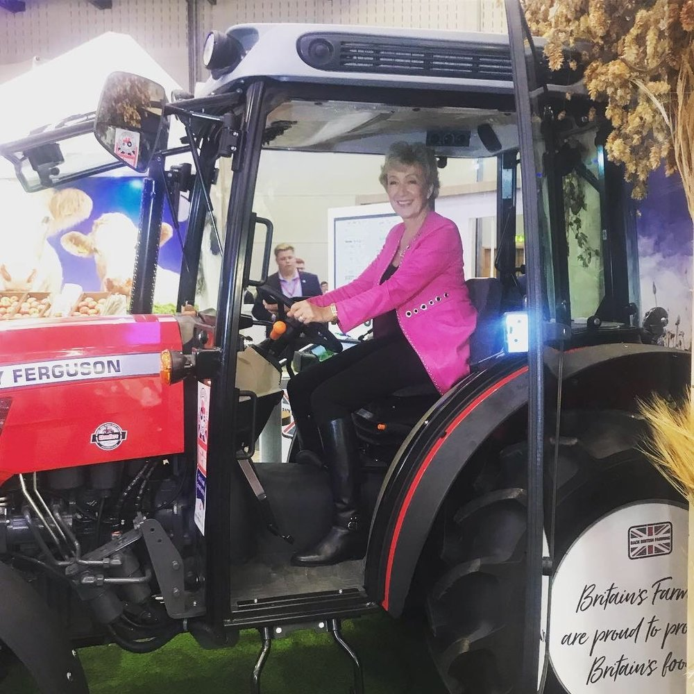 You can take the woman out of Defra...! Visiting the NFU stand at Conference in Birmingham this year. Read more here .